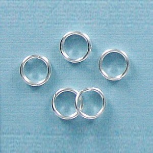 Split Ring 6mm Nickel (1000pc)