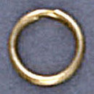 Split Ring 9mm Goldtone (500pc)