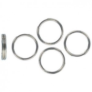Split Ring 9mm Nickel (1000pc)