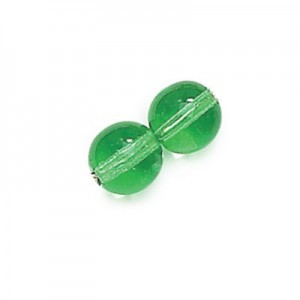 4mm Emerald Smooth Round Druk Loose (600pc)