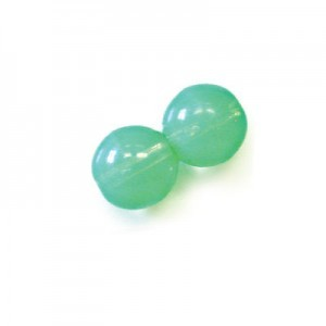 6mm Green Opal Smooth Round Druk Loose (600pc)