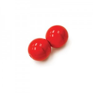 4mm Coral Smooth Round Czech Glass Druk Loose (600pc)