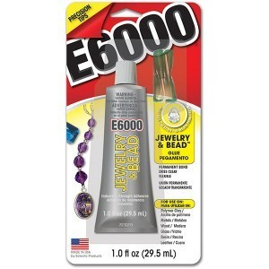 E-6000® Jewelry and Bead Adhesive 1 Oz, Pkg of 6 (#242001)