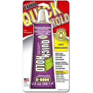 E-6000® Quick Hold Adhesive 2 Oz, Pkg of 6 (#380722)