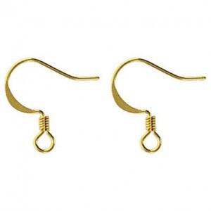 Ear Wire Gold Plate (500pc)