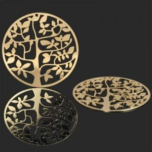 40mm Tree of Life Medallion Forever Gold™ 1pc