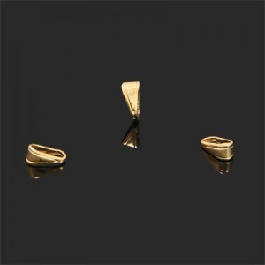 8x4mm Bail Forever Gold™ 20pcs