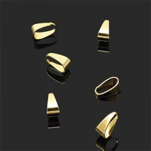 11x5mm Bail Forever Gold™ 10pcs