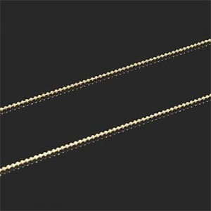 Ball Link Chain (1mm) Forever Gold™ 1m