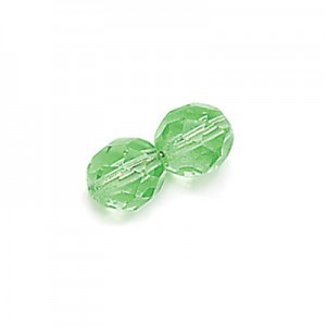 4mm Peridot Fire Polished Round Bead Loose (600pc)