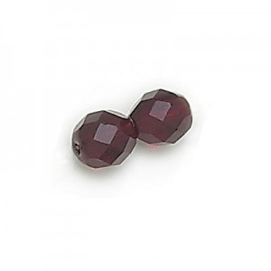4mm Garnet Fire Polished Round Bead Loose (600pc)