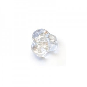 9mm Crystal Glass Trillium Flower Beads Loose (300pc)
