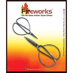6 Inch & 3 Inch Hot Glass Shear (Retail $14.49)