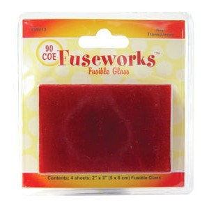 Transp Red Coe90 4pc 2x3 Inch (Retail $4.99)