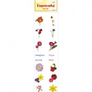 Fuse Art High-Fire Floral Decal for Use with Fuseworks™ Microwave Kiln (Retail $2.99)