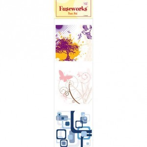 Fuse Art High-Fire Contempo Decal for Use with Fuseworks™ Microwave Kiln (Retail $2.99)