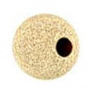 7mm Stardust Round Bead 1.8mm Hole 14k Gold Filled 10pcs