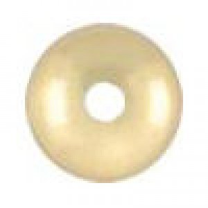 7.3x3.6mm Smooth Saucer (.060-.065 Inch Hole) 14k Gold Filled 10pcs