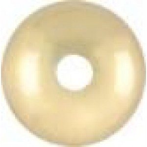 7.8x5.1mm Smooth Saucer (.065-.070 Inch Hole) 14k Gold Filled 10pcs