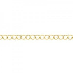 Cable Chain (2.2mm Links) 14k Gold Filled