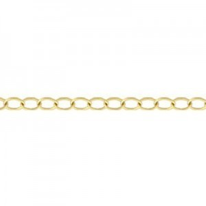 Cable Chain (2.6mm Links) 14k Gold Filled