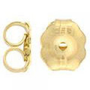 Extra Large Ear Nut (Approx. 5.5mm) 14k Gold Filled 50pcs
