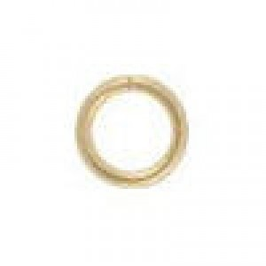 3.5mm 20g(0.76mm) Open Jump Ring 14k Gold Filled 100pcs