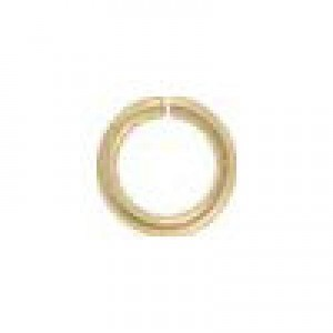 4mm 20g (0.76mm) Open Jump Ring 14k Gold Filled 100pcs