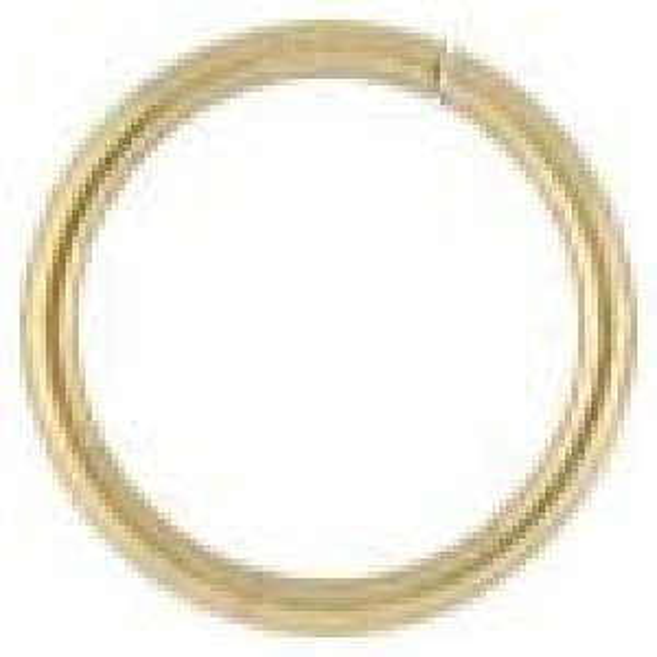 9mm 20g (0.76mm) Open Jump Ring 14k Gold Filled 50pcs
