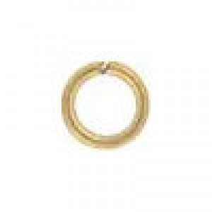 4mm 22g(0.64mm) Open Jump Ring 14k Gold Filled 100pcs