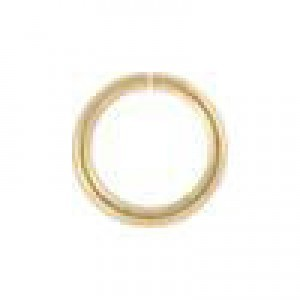 5mm 22g(0.64mm) Open Jump Ring 14k Gold Filled 100pcs