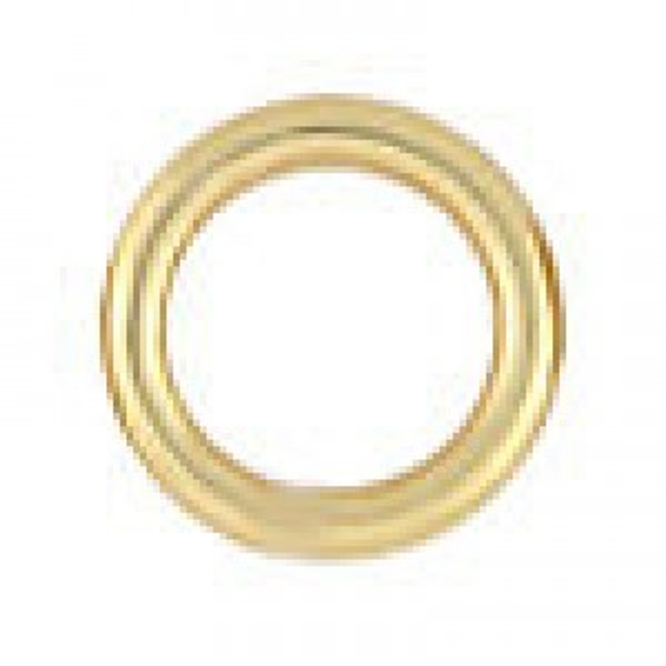 6mm 18g(1mm) Closed Jump Ring 14k Gold Filled 50pcs