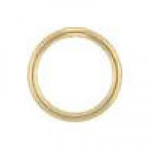 6mm 22g(0.64mm) Closed Jump Ring 14k Gold Filled 50pcs