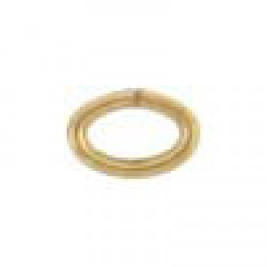 3x4.6mm 22g(0.64mm) Open Oval Jump Ring 14k Gold Filled 100pcs