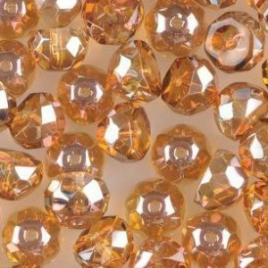 Preciosa® Hill™ 8mm Fire Polished Bead Crystal Venus - 50pc