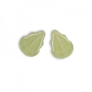 12x10mm Limited Edition Crystal W/ Jonquil Hurricane Glass Leaves 0.25kg