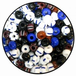 Czech Glass 2/0 Seed Beads Mix 23 - 50 Gram Bag