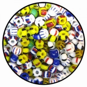 Czech Glass 3/0 Seed Beads Mix 4 - 50 Gram Bag