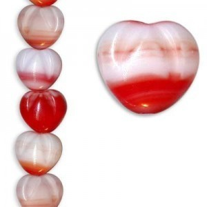 10x11mm Czech Glass Beads Color 95000 - 7 Inch Strand