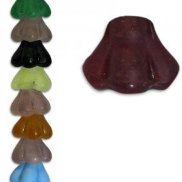 Czech Glass Beads - 7 Inch Strand 00240-6/8-Mix/Matt