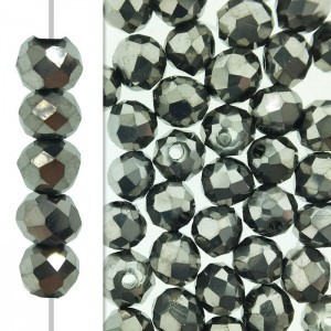 2x3mm Labrador 2x Puffy Rondelles Celebrity Crystals - 50 Beads Strand