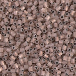 10/0 Cut Twisted Copper Lined Opal 100 Grams Miyuki® Beads (Rough Estimate 7200 Pcs)