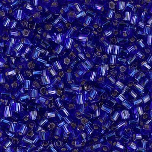 10/0 Cut Twisted S/L Cobalt 250 Grams Miyuki® Beads (Rough Estimate 18000 Pcs)