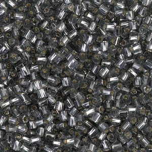 10/0 Cut Twisted S/L Gray 250 Grams Miyuki® Beads (Rough Estimate 18000 Pcs)