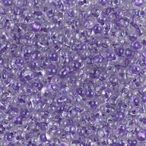 Spkl Purple Lined Crystal (Like Db 906) Miyuki® Berry Bead 250 Grams