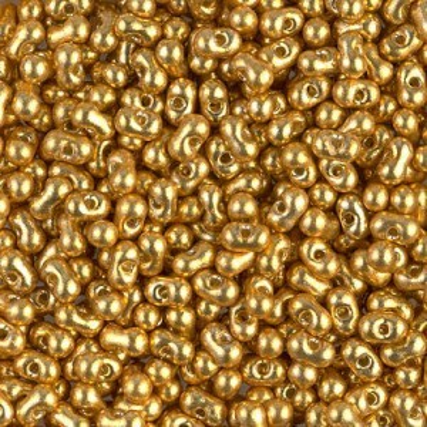 Duracoat Galvanized Gold Miyuki® Berry Bead 250 Grams