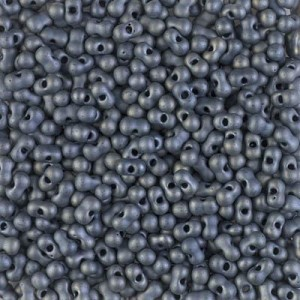 Matte Met Silver Gray Miyuki® Berry Bead 250 grams (Rough Estimate 6000 Pcs)
