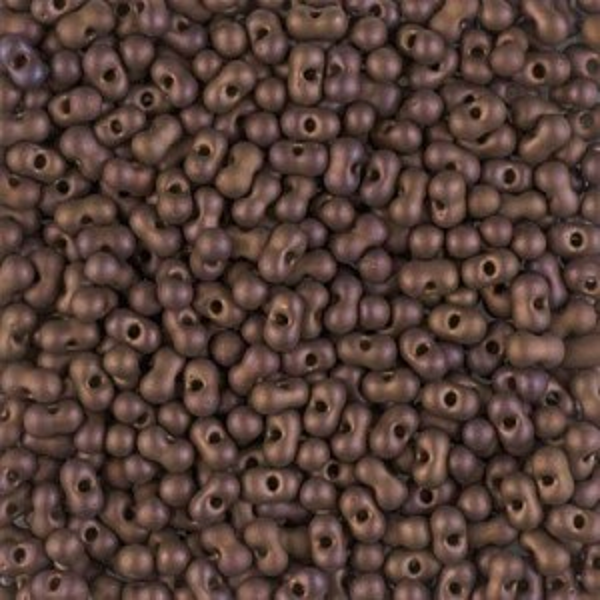 Matte Met Dk Raspberry Iris Miyuki® Berry Bead 250 grams (Rough Estimate 6000 Pcs)