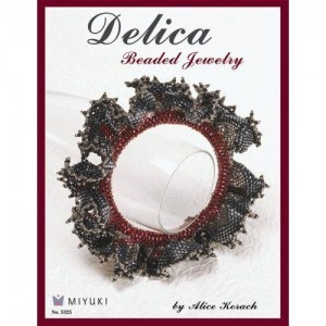 Delica Beaded Jewelry Book by Alice Korach (Retail $14.99) Isbn 157421635x