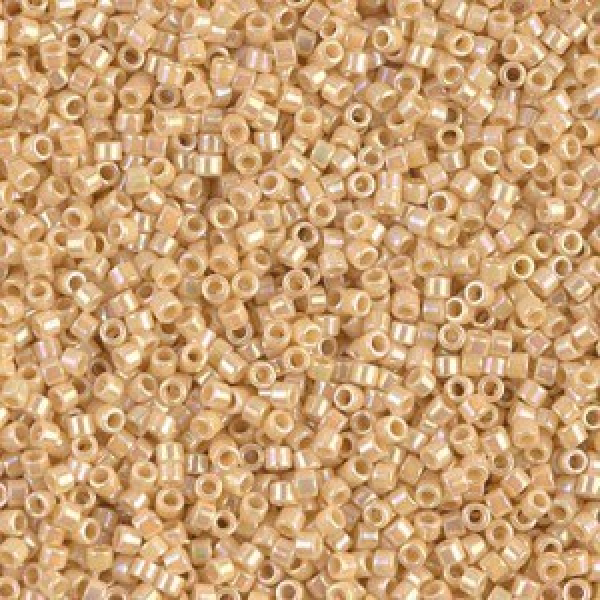 Delica 11/0 Opaque Pear AB 100 Grams Miyuki® Beads (Rough Estimate 20000 Pcs)
